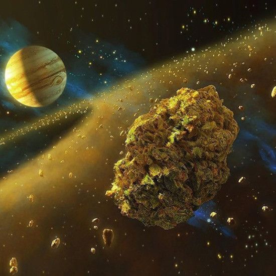 Marijuana in space